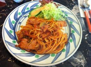 パーラージロー スパゲッティ―ナポリタン
