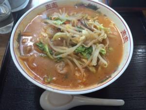 鈴木飯店 みそ辛子野菜ラーメン