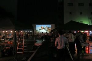 第3回まちなか星空映画祭&第4回路地裏ナイトバル